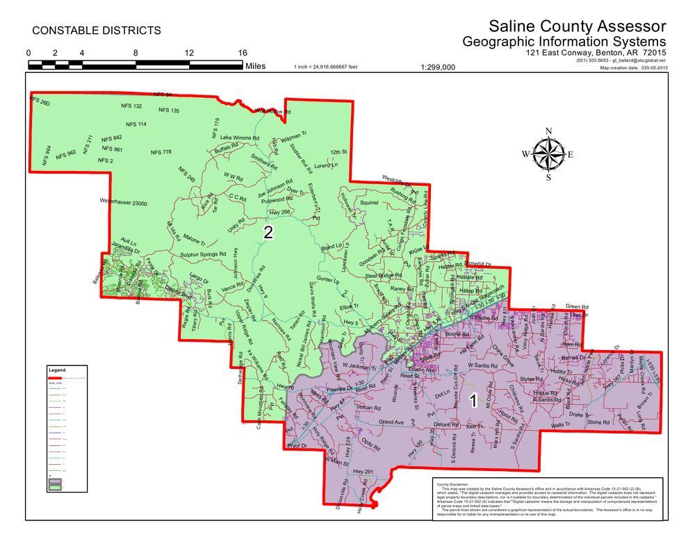 Constables | Saline County Arkansas